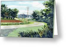 Country Corner Greeting Card