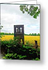 Country Crosses Greeting Card