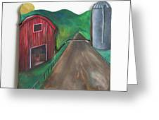 Country Day Greeting Card