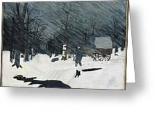 Country Doctor Greeting Card