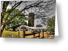Country Farm Near Collierville, Tn Greeting Card