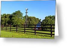 Country Farm Scene Greeting Card by Doug Camara