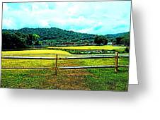 Country Field Greeting Card
