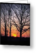 Country Glow Greeting Card