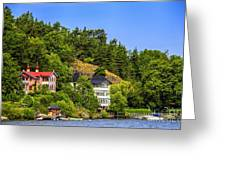 Country Homes Greeting Card