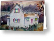 Country House Greeting Card