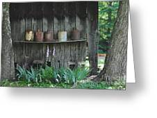 Country Jugs Greeting Card