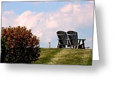 Country Life - Evening Relaxation Greeting Card