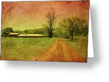 Country Living - Bayonet Farm Greeting Card by Angie Tirado