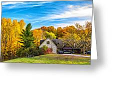 Country Living 2 - Paint Greeting Card