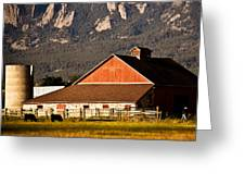 Country Living Boulder County Greeting Card