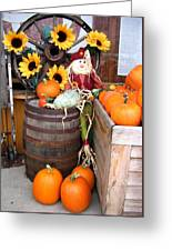 Country Market Greeting Card