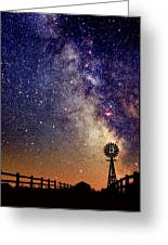 Country Milky Way Greeting Card