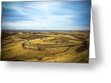 Country Mountain Roads Greeting Card