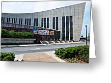 Country Music Hall Of Fame Nashville Greeting Card