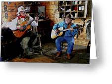 Country Pickin Greeting Card