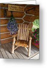 Country Porch Greeting Card