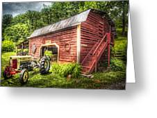 Country Reds Greeting Card