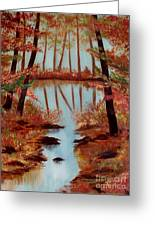 Country Reflections Greeting Card