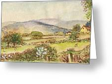 Country Scene Collection 3 Greeting Card