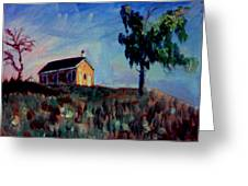Country School House Greeting Card