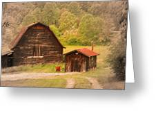 Country Shack Greeting Card