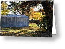 Country Shed Greeting Card