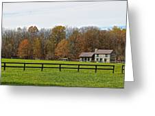 Country Side Home Greeting Card