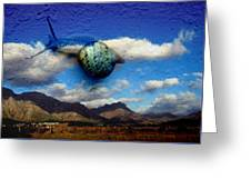 Country Snail Greeting Card