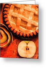 Country Style Baking Greeting Card