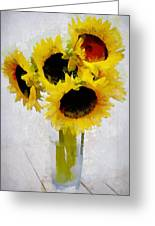 Country Sun I Greeting Card