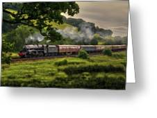 Country Train Ride Greeting Card