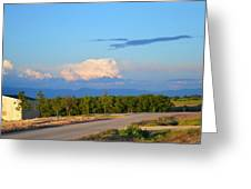 Country View  Greeting Card