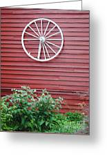 Country Wheel Greeting Card