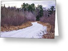 Country Winter 13 Greeting Card