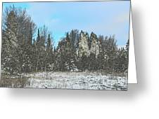 Country Winter 15 Greeting Card