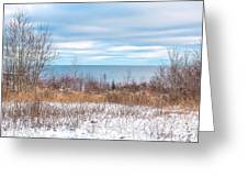 Country Winter 16 Greeting Card