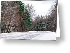 Country Winter 9 Greeting Card