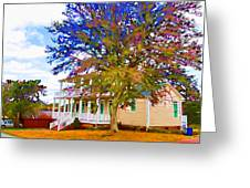 Countryside House 1 Greeting Card