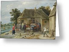 Countryside Inn Greeting Card