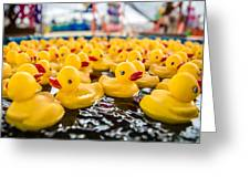 County Fair Rubber Duckies Greeting Card