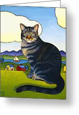 Coupeville Cat Greeting Card