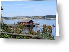 Coupeville Wharf II Greeting Card