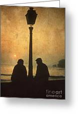 Couple Greeting Card by Bernard Jaubert