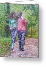 Couple In Love Greeting Card