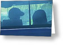 Couple In The Truck Greeting Card