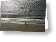 Couple Seascape Greeting Card