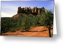 Court House Butte Greeting Card
