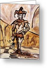 Court Jester Greeting Card