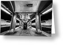 Court Street Subway Greeting Card